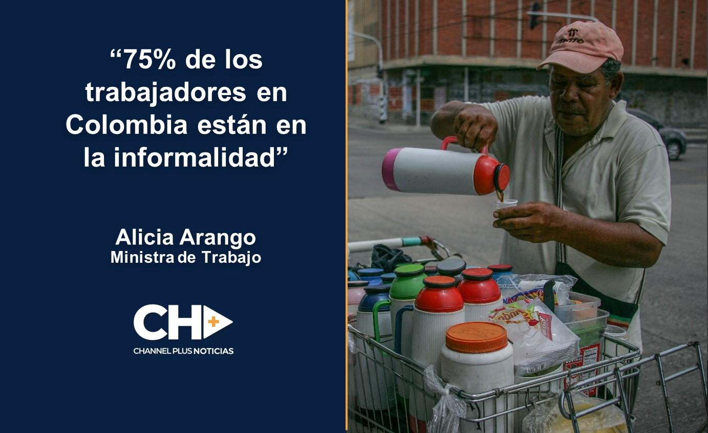 75% de los Empleados en Colombia trabajan en la Informalidad.