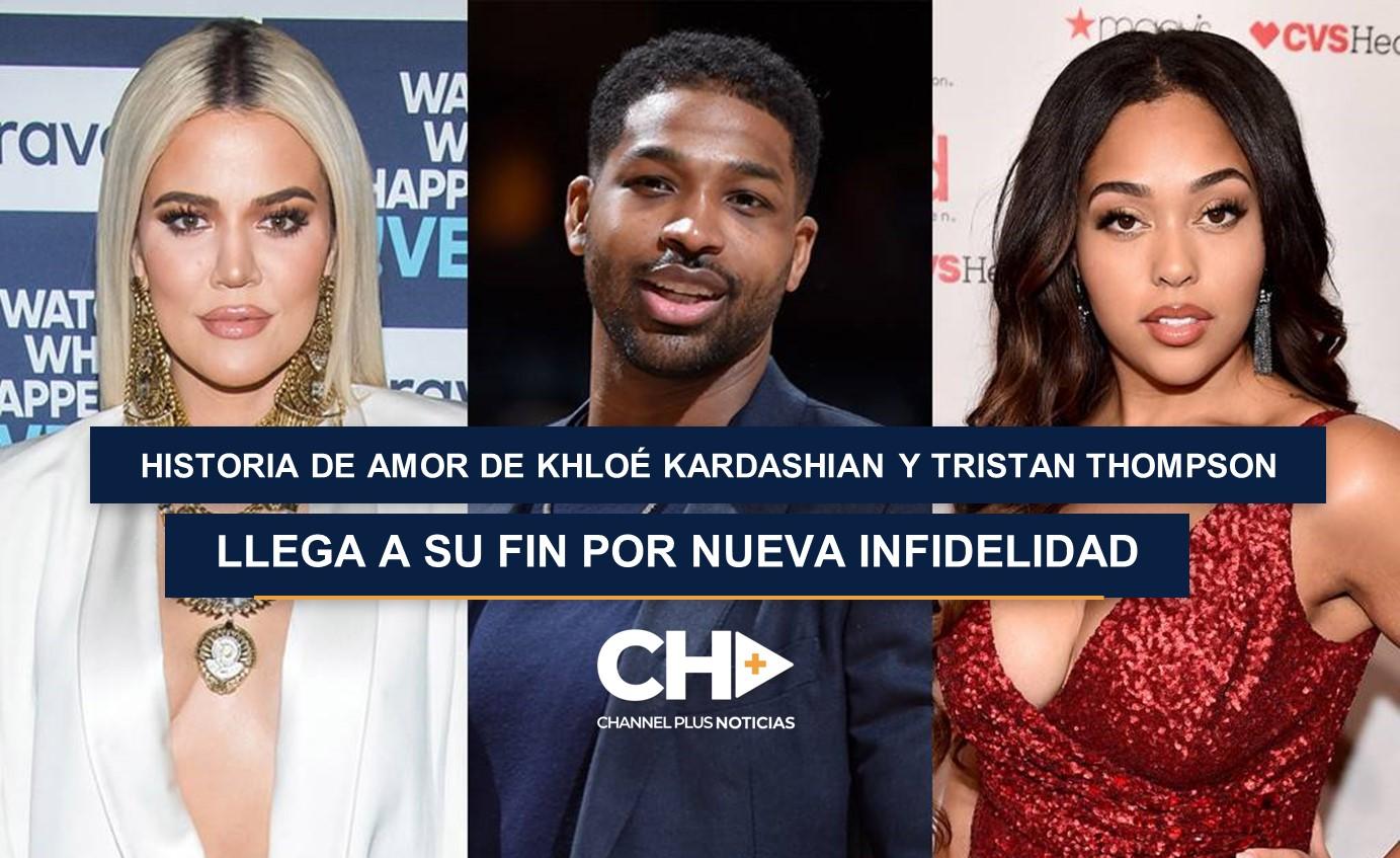 Khloé Kardashian rumora nueva infidelidad de Tristan Thompson