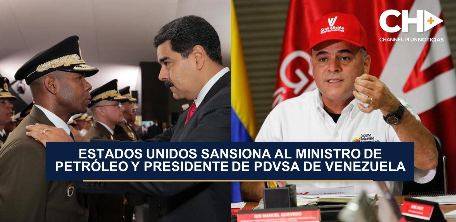 Estados Unidos introduce nuevas sanciones a cinco venezolanos, entre ellos el ministro de Petróleo y presidente de PDVSA