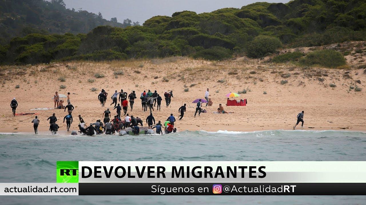 España pacta con Marruecos devolver parte de los migrantes rescatados en el mar