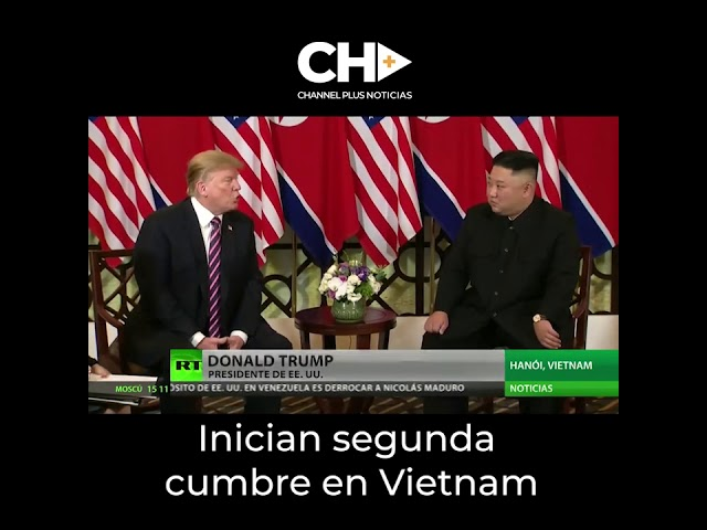 Thrump y Kim en Vietnan