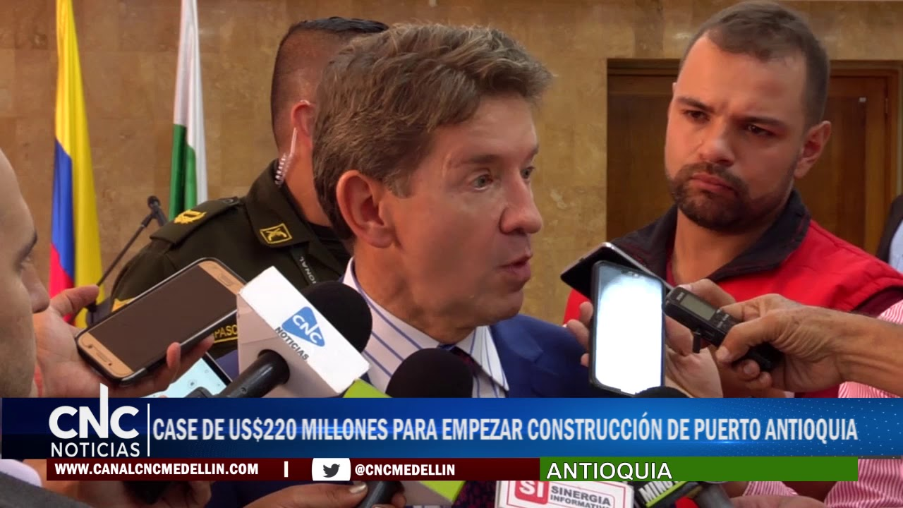 Case de US$220 millones para empezar construcción de Puerto Antioquia