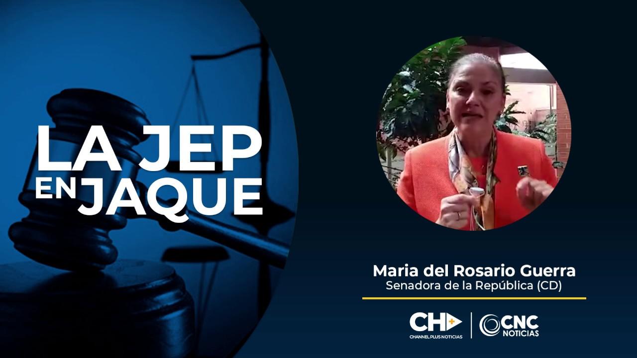 Senadora María del Rosario Guerra (CD) apoya al Presidente Duque.