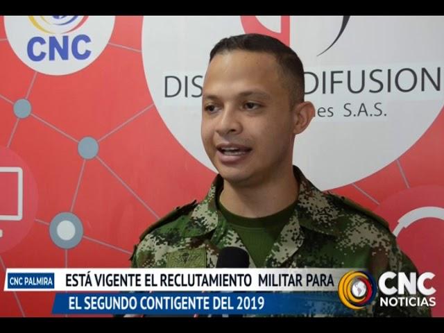 Esta vigente el reclutamiento militar para el segundo contingente de 2019