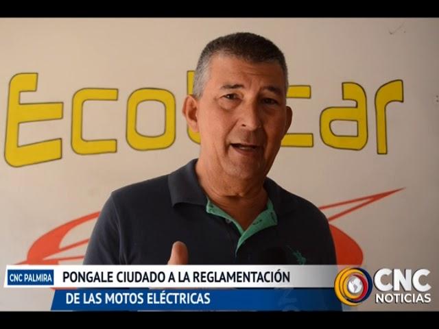 Motos eléctricas se ha convertido en la nueva alternativa de transporte para los Palmiranos