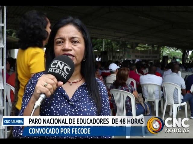 FECODE convoca a paro nacional de educadores por 48 horas