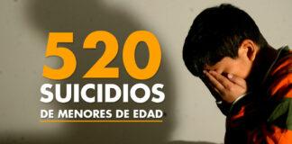 520 suicidios de menores de edad