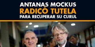 Antanas Mockus radicó tutela para recuperar su curul / Channel Plus