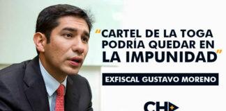 Gustavo Moreno / Cartel de la toga
