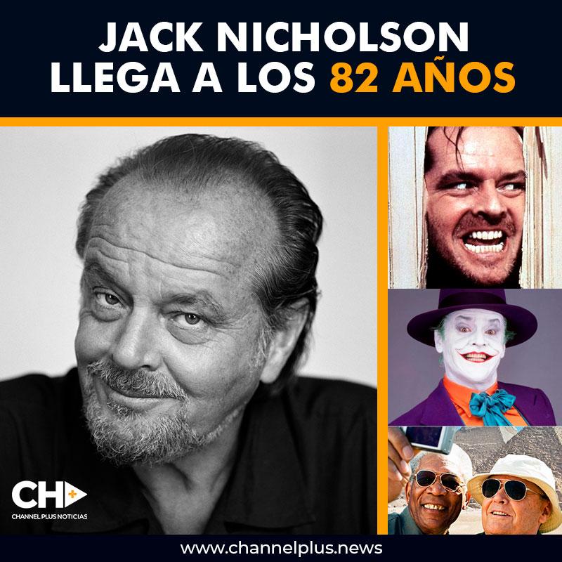 Jack Nicholson llega a los 82 años