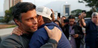 Leopoldo López Liberado por grupo de militares en Venezuela