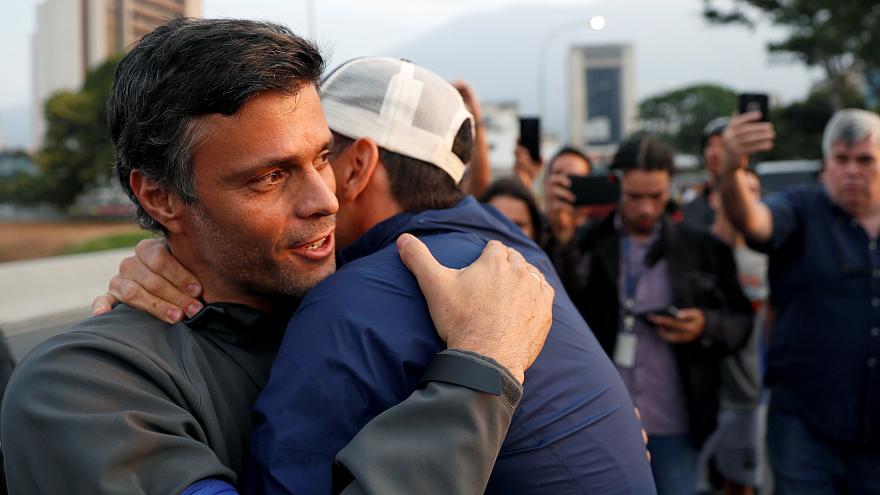 Leopoldo López liberado por Grupo de militares desertores