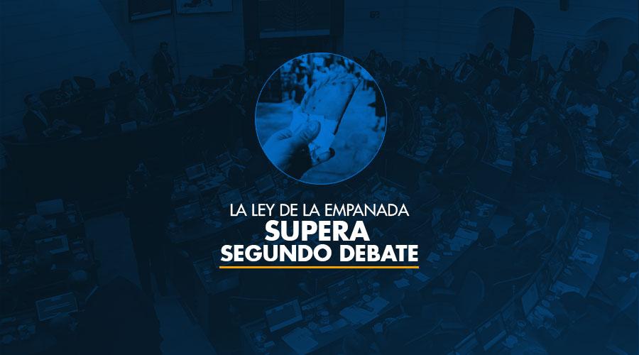La ley de la empanada supera el segundo debate