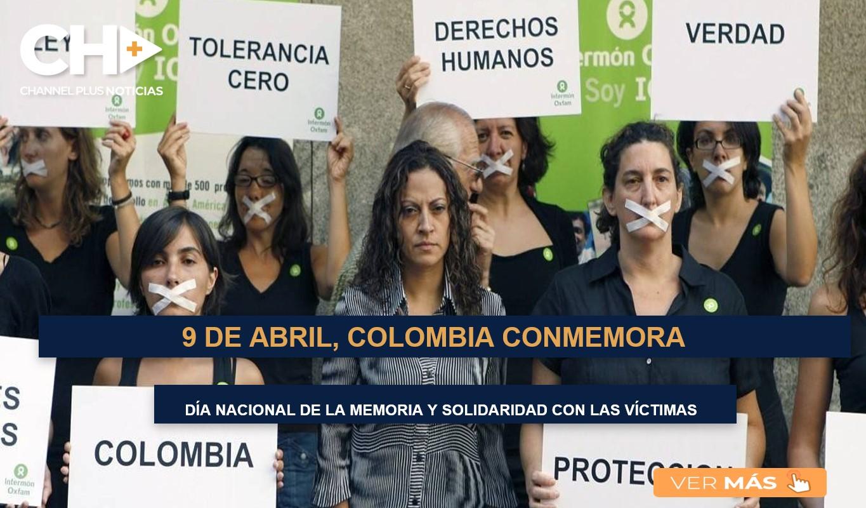 9 de abril, Colombia conmemora el 'Día nacional de la memoria y la solidaridad con las víctimas'