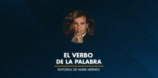 El verbo de la palabra por Habib Merheg Marún