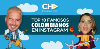 INSTAGRAM, TOP 10 COLOMBIANOS FAMOSOS
