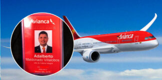 Adalberto Maldonado Villalobos / Avianca