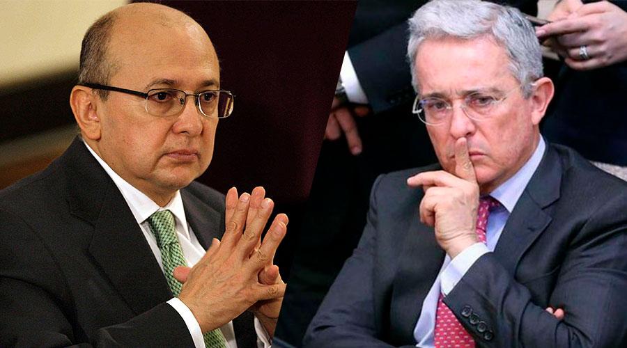 exfiscal Eduardo Montealegre Vs Alvaro Uribe
