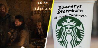 Starbucks / Game of Thrones