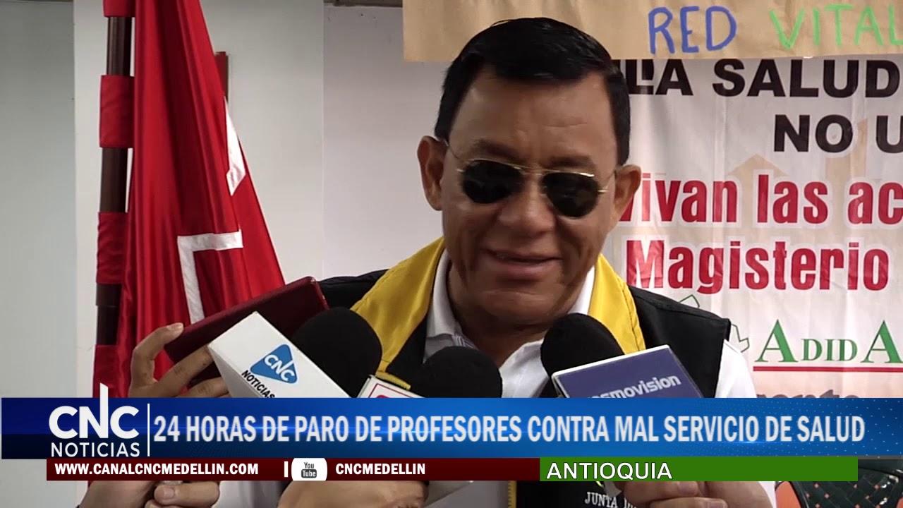 24 HORAS DE PARO DE PROFESORES CONTRA MAL SERVICIO DE SALUD