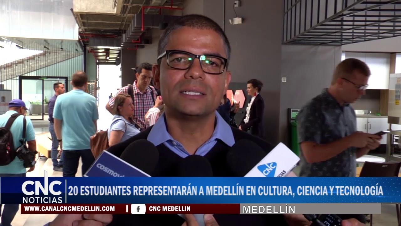 20 Estudiantes Representarán a Medellín en cultura, ciencia y tecnología