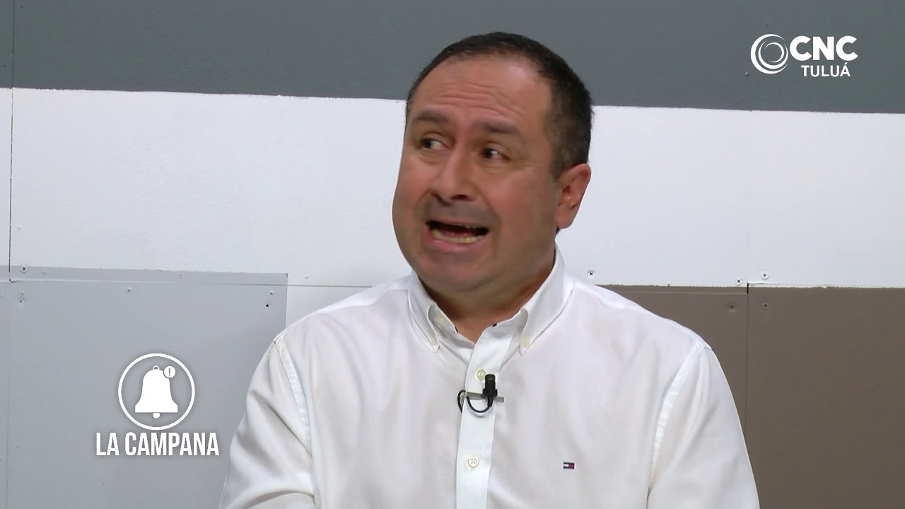 Hoy suena la Campana con el alcalde de Tuluá Gustavo Vélez Román