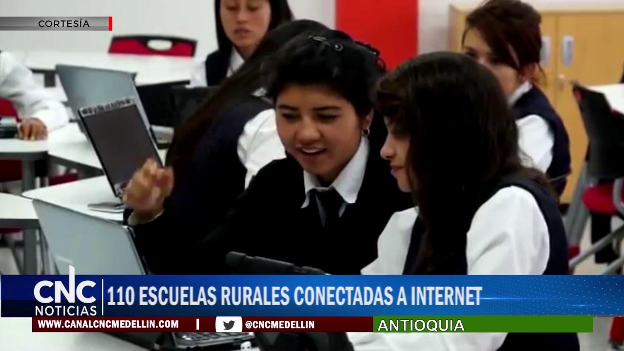 110 ESCUELAS RURALES CONECTADAS A INTERNET