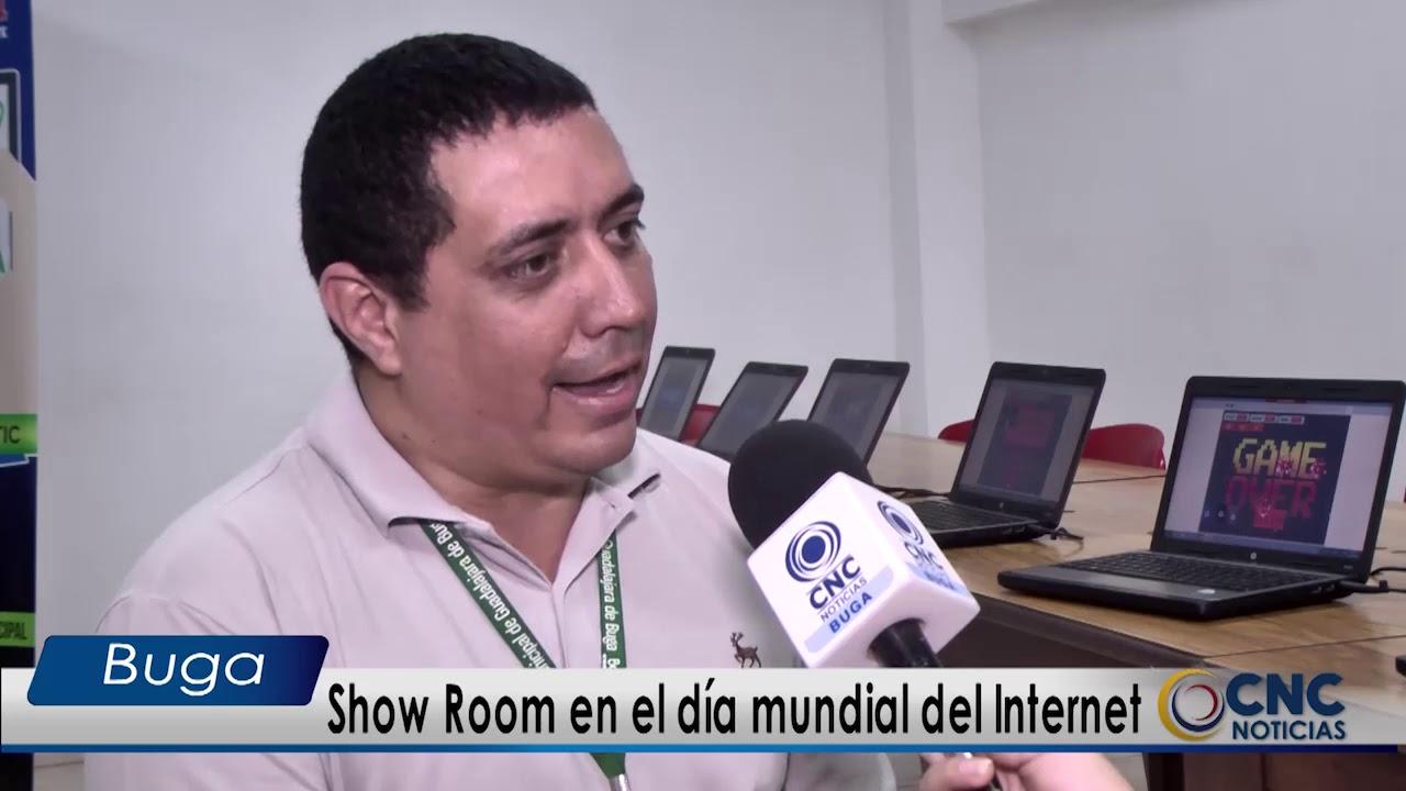 Guadalajara de Buga celebro el día mundial del Internet con un Show Room