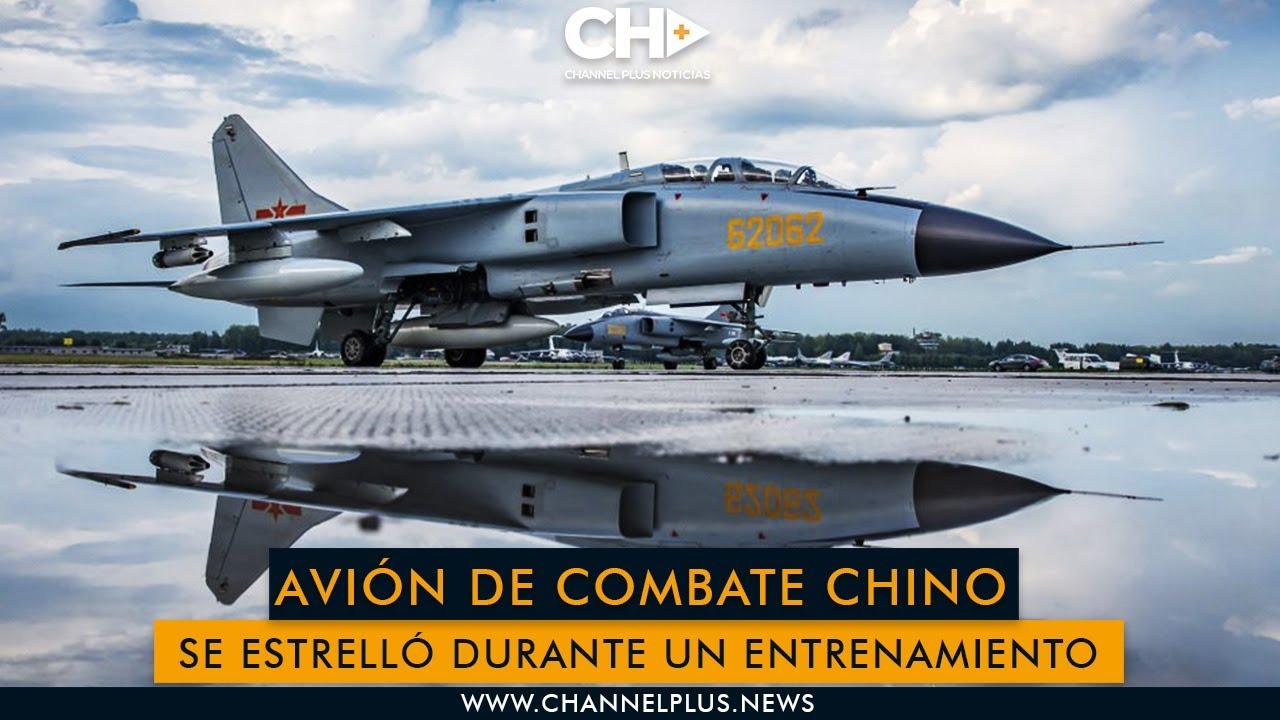 [VÍDEO] Se estrella un avión de combate chino JH 7