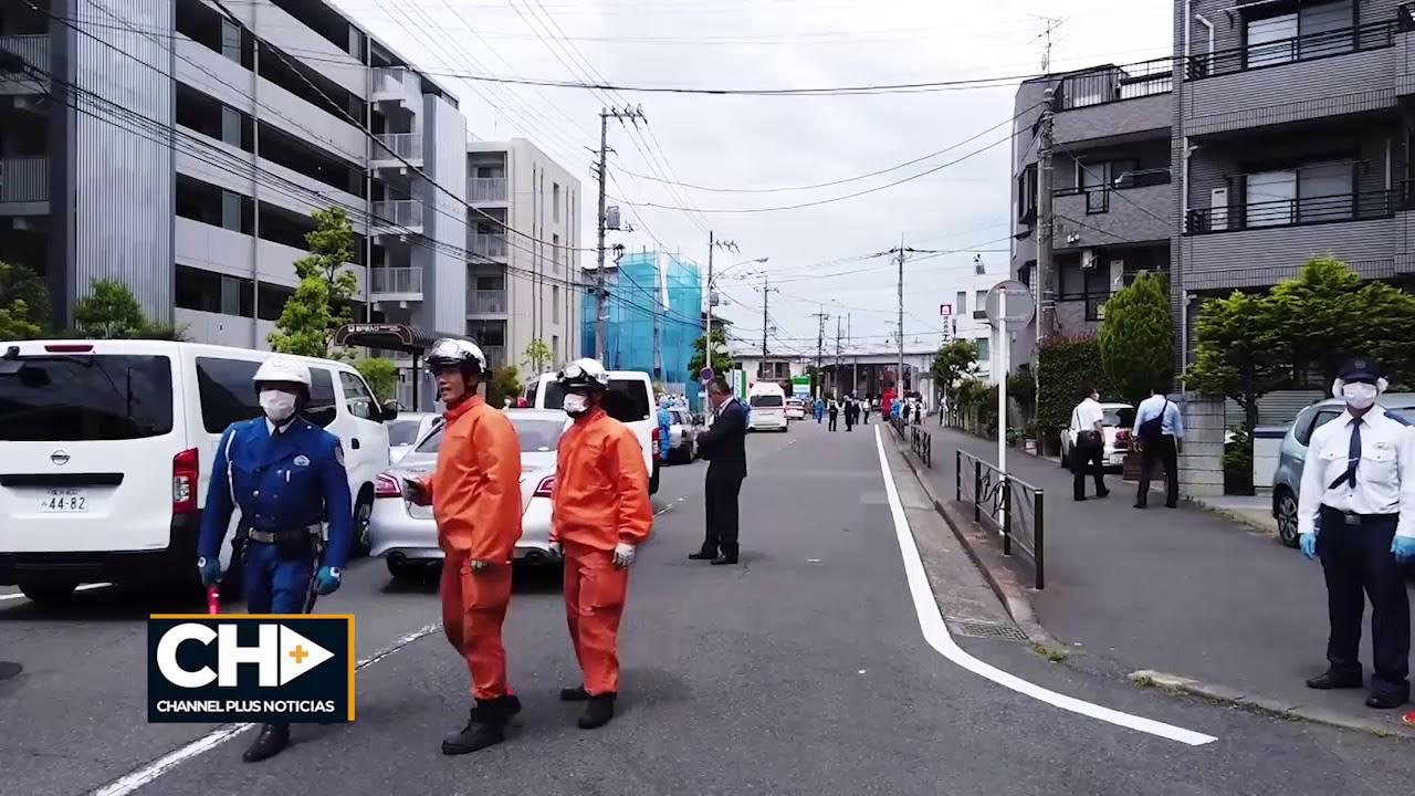 Ataque con arma blanca en Japón deja dos muertos y 17 heridos