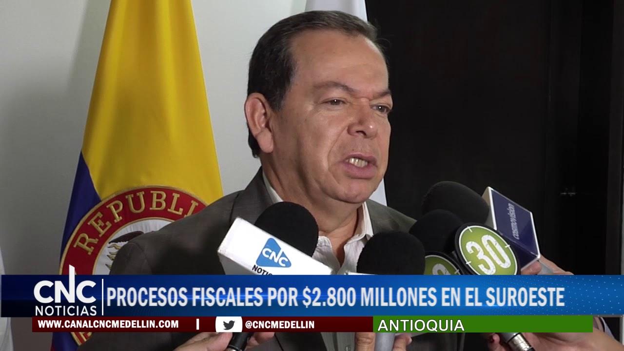 PROCESOS FISCALES POR $2 800 MILLONES EN EL SUROESTE