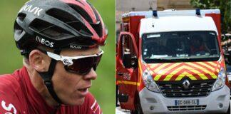 Froome se despide del Tour de Francia por caída de este miércoles en el Dauphiné
