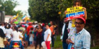 7 de junio Marcha contra el Fracking