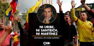 Ni Uribe, ni Santrich, ni Martínez / Editorial Habib Merheg Marún