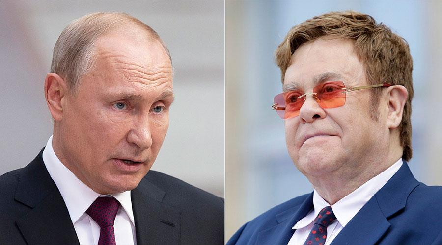 PUTIN responde ante críticas de Elton John sobre comunidad LGBT