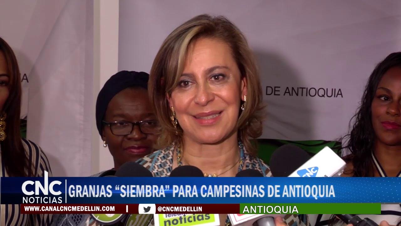 """GRANJAS """"SIEMBRA"""" PARA CAMPESINAS DE ANTIOQUIA"""
