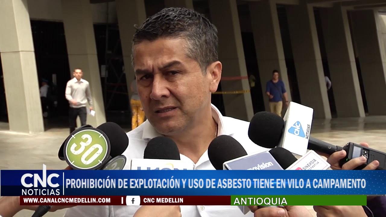 PROHIBICIÓN DE EXPLOTACIÓN Y USO DE ASBESTO TIENE EN VILO A CAMPAMENTO