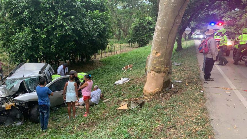 Fatal accidente de carretera deja 4 muertos y 3 heridos en límites de Cesar y Magdalena