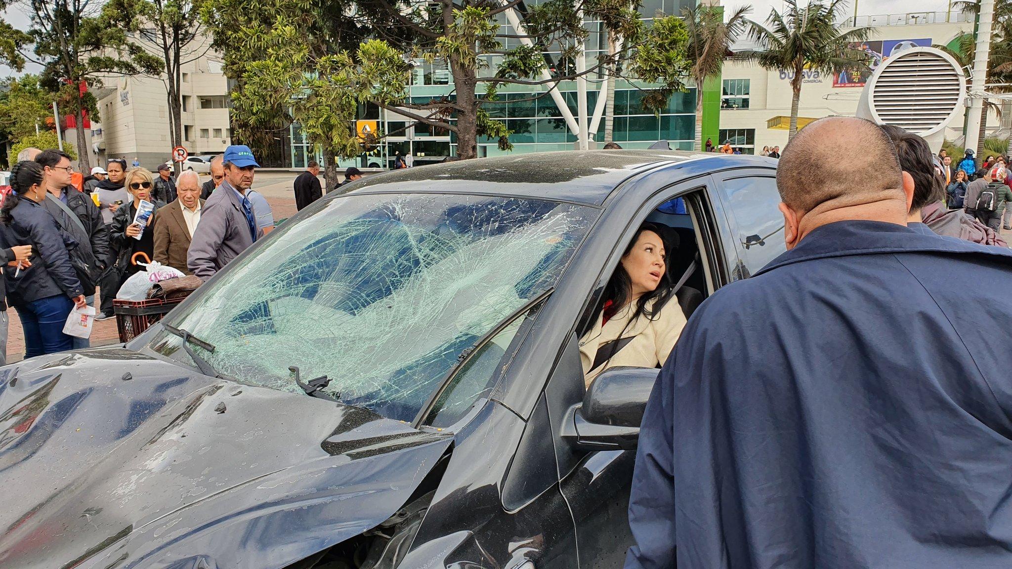 Vehículo sin frenos mató a dos personas en Bogotá