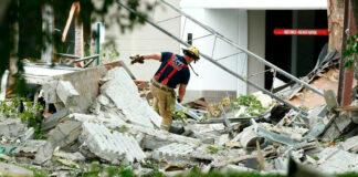 Fuerte Explosión en Centro Comercial de MIAMI