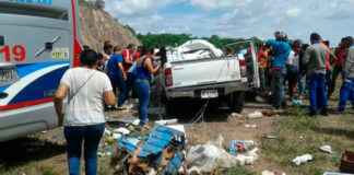 5 muertos y 7 heridos en accidente en carretera de Bosconia