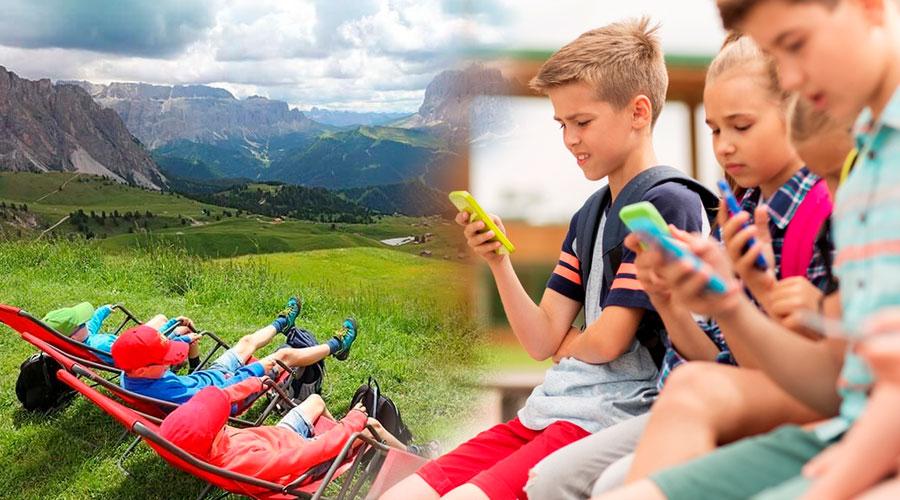 Desde Dolimitas, una pequeña población en Italia se quiere crear una ley en contra de la dependencia al celular