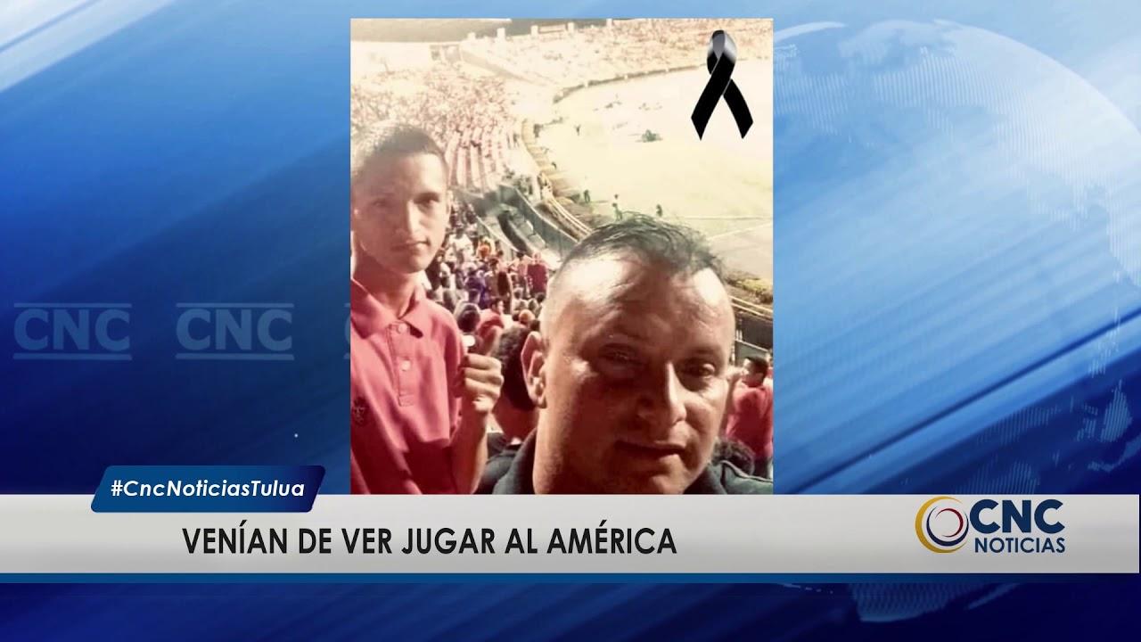 Padre e hijo hinchas del América, perdieron la vida en accidente de tránsito