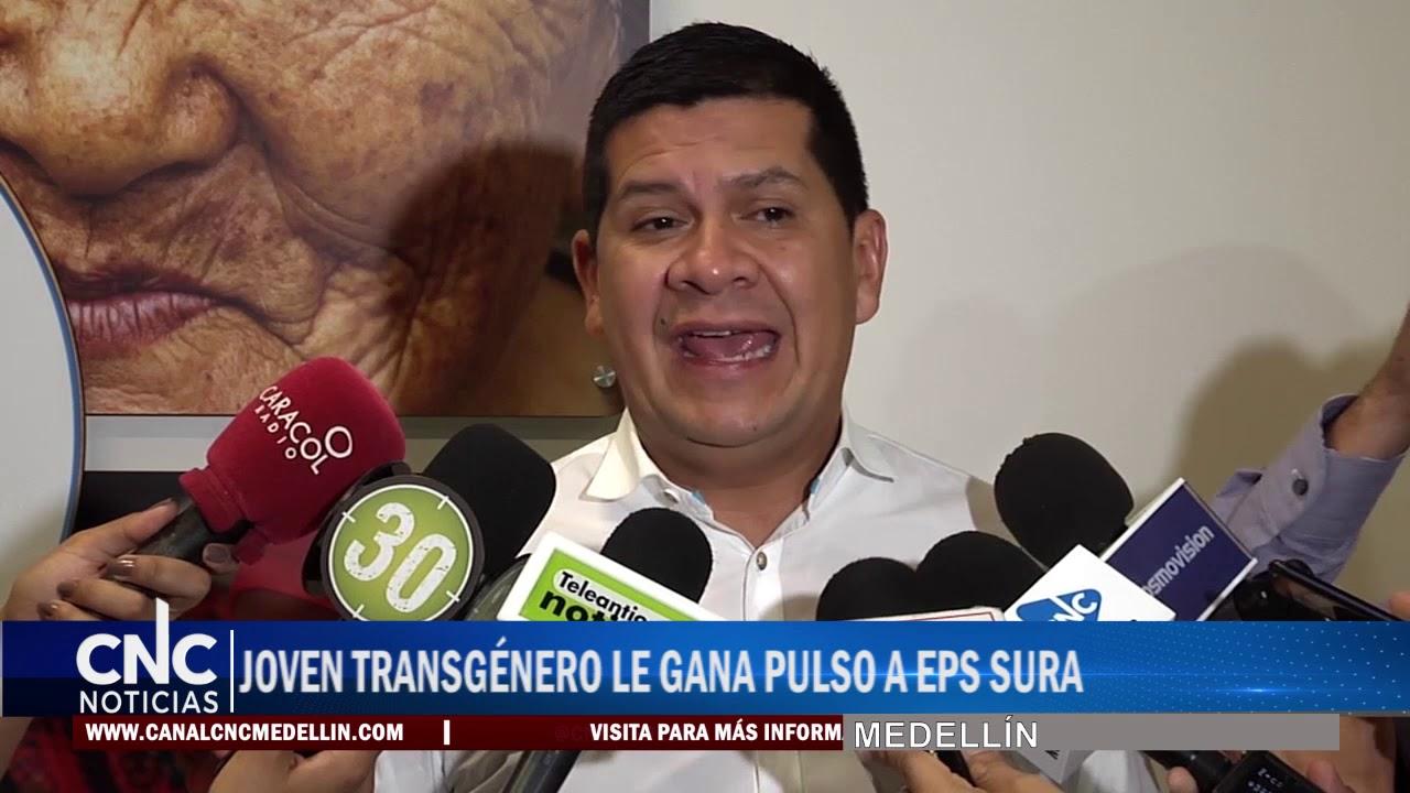JOVEN TRANSGÉNERO LE GANA PULSO A EPS SURA