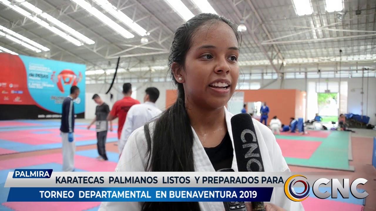 Karatecas Palmiranos ya se encuentran listos y preparados para los departamentales en Buenaventura 2019