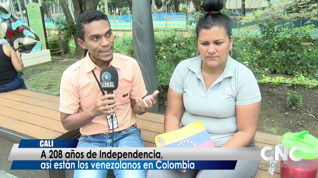 A 208 años de Independencia, así están los venezolanos en Colombia