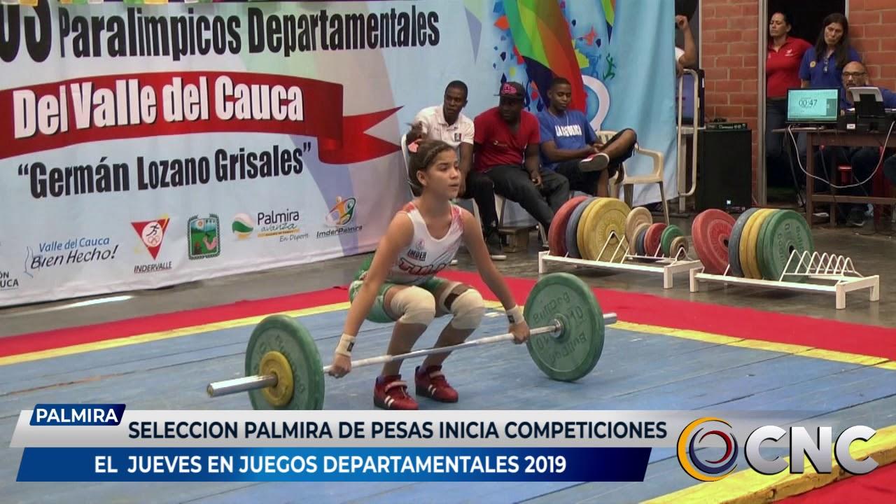 Selección Palmira de pesas inicia competencias el jueves en juegos departamentales