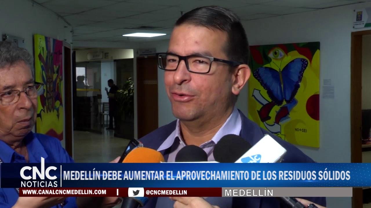 MEDELLÍN DEBE AUMENTAR EL APROVECHAMIENTO DE LOS RESIDUOS SÓLIDOS