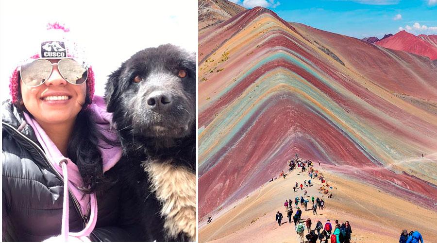 Conozca a 'Doc', el perro que lo guiará por la Montaña de los Siete Colores