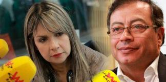 la pelea de Gustavo Petro y Vicky Dávila